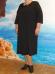 """Платье """"Классика"""" арт.166 (черный) (Киргизия) — размеры 66, 68"""