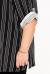 """Рубашка """"Грань"""" (ВК20-061) бело-черный (Терра, Москва) — размеры 60-62, 64-66, 68-70"""